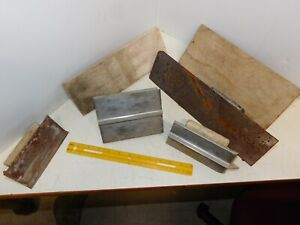 Lot Of 6 Masonary Tool Concrete Cement Hand Trowel Groove Edger Float