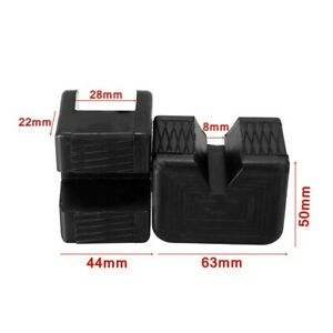 Replacement Lifting Jack Support Pads Accessories Adapter 63 44 50mm Useful
