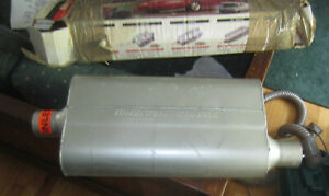 Flowmaster 942452 Flow Muffler 2 25 Center In 2 25 Offset Out Used But In Box