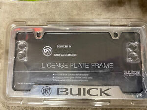 Genuine Gm Buick License Plate Holder Part 19302638