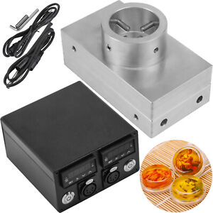4 x7 Rosin Press Plate Kit Singler Layer Controller Dual Pid With Heating Rod