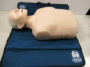 Laerdal Little Anne Cpr Training Manikin Ems Nursing Adult W Blue Mat First aid