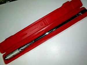 Proto Tools Usa 6013c 1 2 drive Micrometer Torque Wrench 50 250ft lbs 27 long