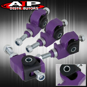 For 88 89 90 91 Honda Civic Crx Purple Adjustable Front Tire Wheel Camber Kit