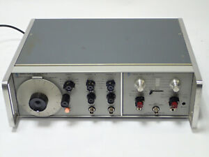 Hp 3300a Agilent Function Generator W Hp 3305a Sweep Plug in Vintage Tested