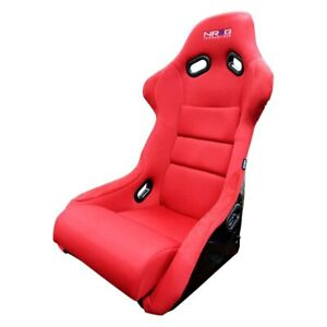 Nrg Innovations Frp 300 Series Racing Seat Red