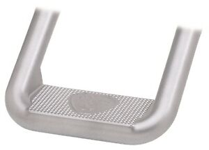 Carr 106334 Hoop Ii Truck Step Xp4 Titanium Silver Powder Coat Pair