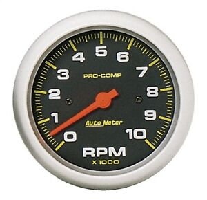 Autometer 5161 Pro comp Electric In dash Tach 3 3 8 10k Rpm