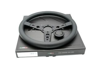Momo Prototipo Black Edition Steering Wheel Leather 350mm Brand New Authentic