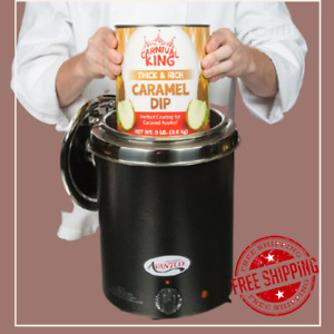 6 Qt Stainless Steel Soup Kettle Warmer Commercial Kitchen Nacho Cheese 10 Can