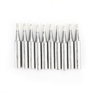 10pc set Soldering Screwdriver Tip For Hakko 936 900m t Soldering Station Tool A