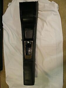 1973 1977 Oldsmobile Cutlass Console Automatic W Shifter Complete black orm nice