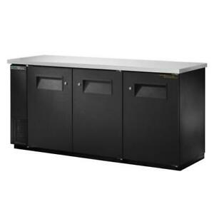 True Tbb 24 72 hc 73 In Back Bar Cooler W 3 Solid Swing Doors