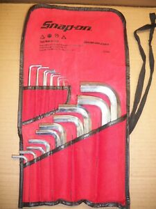 Snap on Snap On Aw1020dk 20 Pc Standard Sae Hex Key Allen Wrench Set
