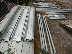 At pac Scaffold Scaffolding Ringlock Galvanized Steel 10 7 Planks Poles