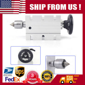 65mm Tailstock Mo type 2 Top Thimble Indexing Head For Cnc Rotary A 4th Axis