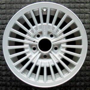 Volvo 240 Series Silver With Center Cap Hole 14 Inch Oem Wheel 1979 To 1993
