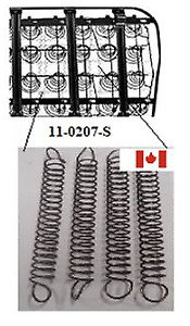 New 1947 1959 Chevy Gmc Truck Seat Base Coil Tension Springs Set Of 4