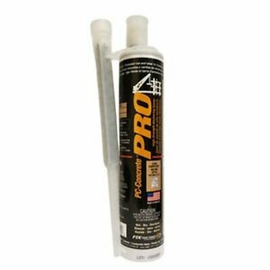 Pc Products 79003 Pc concrete Pro High Strength Anchoring Epoxy System 250ml