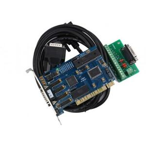 3 Axis Usb Card Cnc Stepper Motor Driver Motion Controller Board