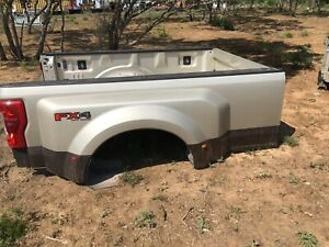 2017 2018 2019 2020 Ford F 350 Tan Beige Dually Truck Bed 8ft