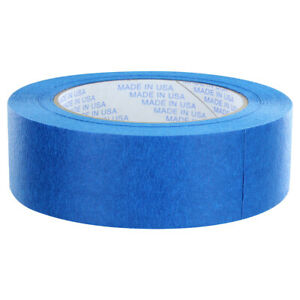 Rugged Blue M187 Painters Tape 1 5in X 60yd 21 Day Clean Release