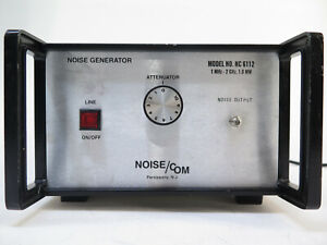Noise Com Nc 6112 Noise Generator 1mhz To 2ghz 1 0 Mw Nc6112