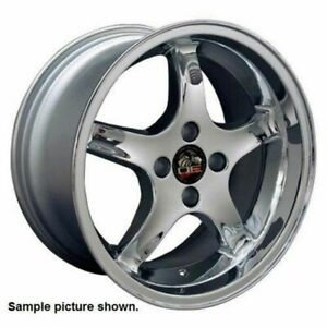 1 New 17 Replacement Rear Wheel Rim For Ford Mustang Cobra R Deep Dish 6208