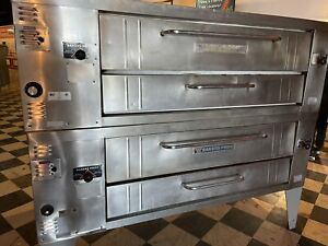 Bakers Pride Pizza Oven Ovens Model Y600 Y602 W possible Delivery