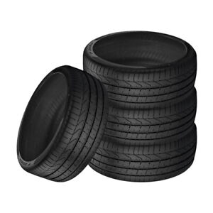 4 X New Pirelli Pzero 235 35r19 91y Summer Sports Performance Traction Tires