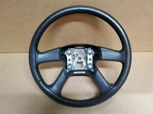 06 09 Trailblazer Ss Perforated Leather Steering Wheel No Controls Some Wear