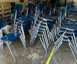 Lot Of 60 Stackable Chairs