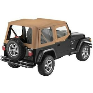 79120 37 Bestop New Soft Top Spice For Jeep Wrangler 1988 1995
