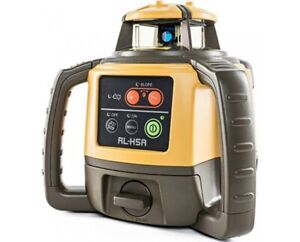Topcon Rl h5a Rotary Laser Level With T100 Receiver And Batteries
