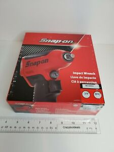 Snap On Tools 3 8 Drive Air Impact Wrench New In Box hi viz Yellow Mg325hv