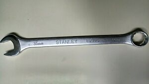 Stanley 89 775 Pre owned large 35mm 12 Point Combination Wrench 18 Long