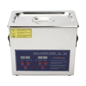Ultrasonic Cleaning Machine Stainless Steel Can Clean Jewelry Gold And Silver