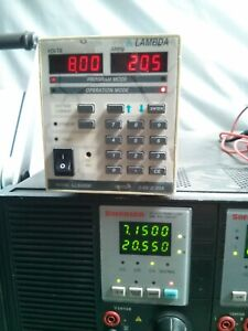 Lambda Lls 6008 Regulated Dc Bench Power Supply 8v 20a Load Tested