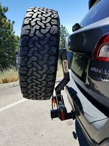 Outback Spare Tire Hitch Carrier Drop Down