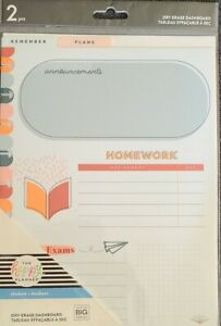 The Happy Planner Dry Erase Dashboards Student