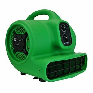 P 430at Medium Air Mover Utility Blower Fan With Built in Power Outlets 1