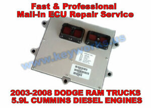 2003 2008 Dodge Ram Trucks 5 9l Diesel Cummins Engine Ecu ecm pcm Repair Service