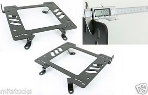 1 Pair Heavy Duty 5mm Racing Seat Bracket Adapter Fit 78 88 Chevy Monte Carlo