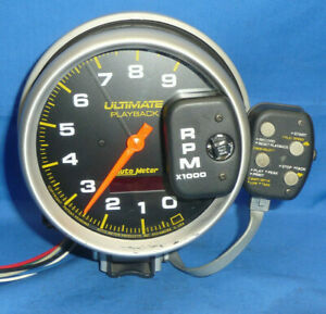 Auto Meter 6881 Tachometer Dual Channel Ultimate Playback 5 Tach