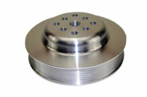Sbc Chevy 283 400 Machined Aluminum Swp Serpentine Water Pump Pulley