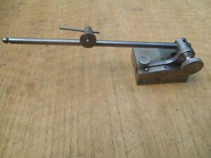 Starrett No 257 Universal Surface Gage With 9 Spindle