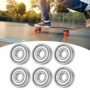 10 X Ball Bearing Stainless Steel Roller Skates Replacement Bearings Accessories