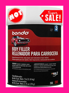 Bondo Body Filler 1 Gallon Car Paint Body Paint And Fillers Auto Body Repair New