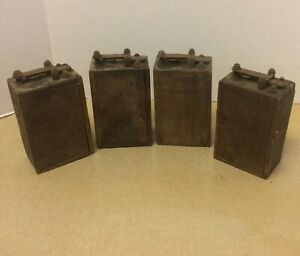 4 Antique Ford Model T Or Awood Battery Box Ignition Coils Buzz Box As Found