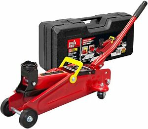 Big Red T820014s Torin Hydraulic Trolley Floor Jack With Carrying Case 1 5 Ton